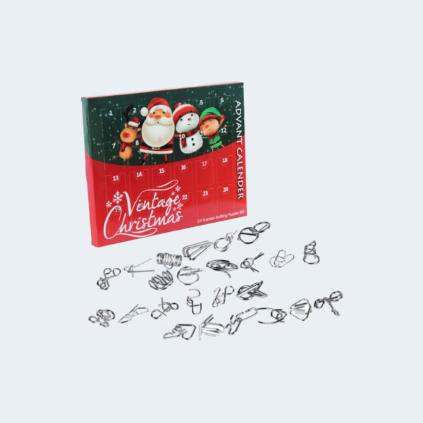 Metal Wire Puzzle Jouets Calendrier