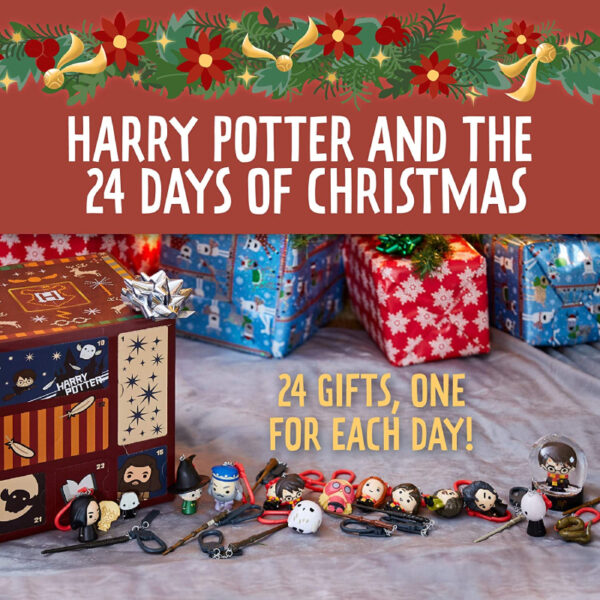 Paladone Cube Harry Potter Calendrier Personnages