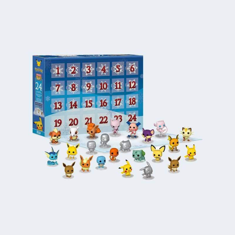 Personnages Calendrier Avent Pokémon 2021 Funko Pop