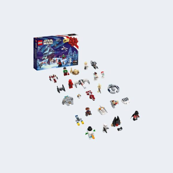 Personnages Lego Star Wars Calendrier Avent 2020