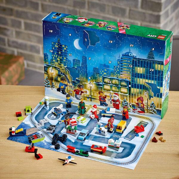 Plateau Calendrier Avent Jeu Construction Lego