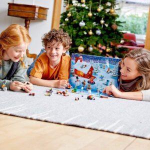 Plateau Calendrier Avent Lego Jeu de Construction 60235