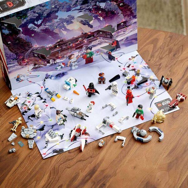 Plateau Calendrier Lego 2020 Star Wars
