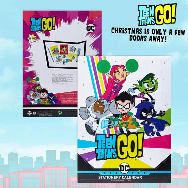 Teen Titans Go Calendrier Avent Cadeaux