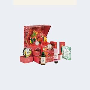The Body Shop Calendrier de l'Avent 2021 Partagez l'amour