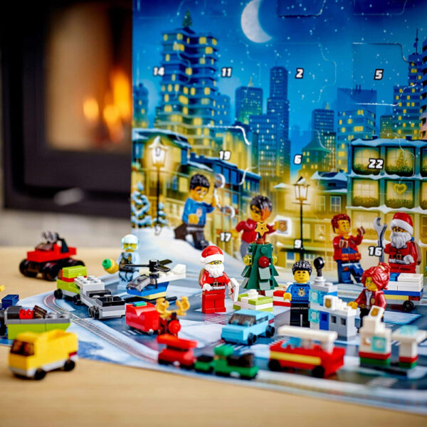 Véhicule Calendrier Avent Jeu Construction Lego