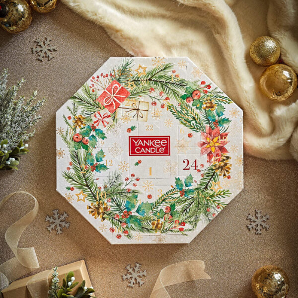 Yankee Candle Couronne Calendrier Avent